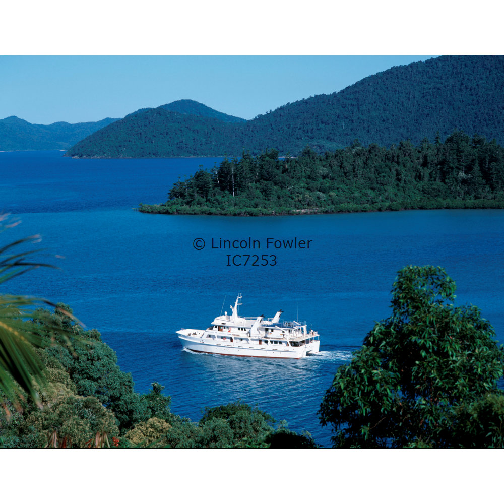 Cruise Ship in the Whitsunday Islands Queensland Australia