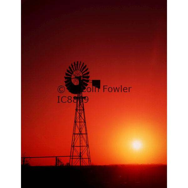 Windmill outback Queensland Australia