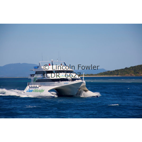 Great Barrier Reef day tour boat