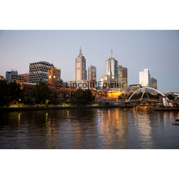 Bridges of the Yarra River Melbourne Australia
