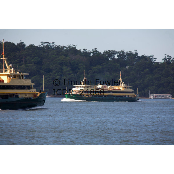 """Collaroy"" & ""Freshwater"" Sydney Harbour Ferry"