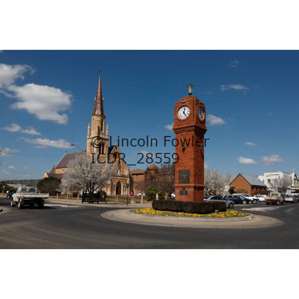 Mudgee clock tower Australia