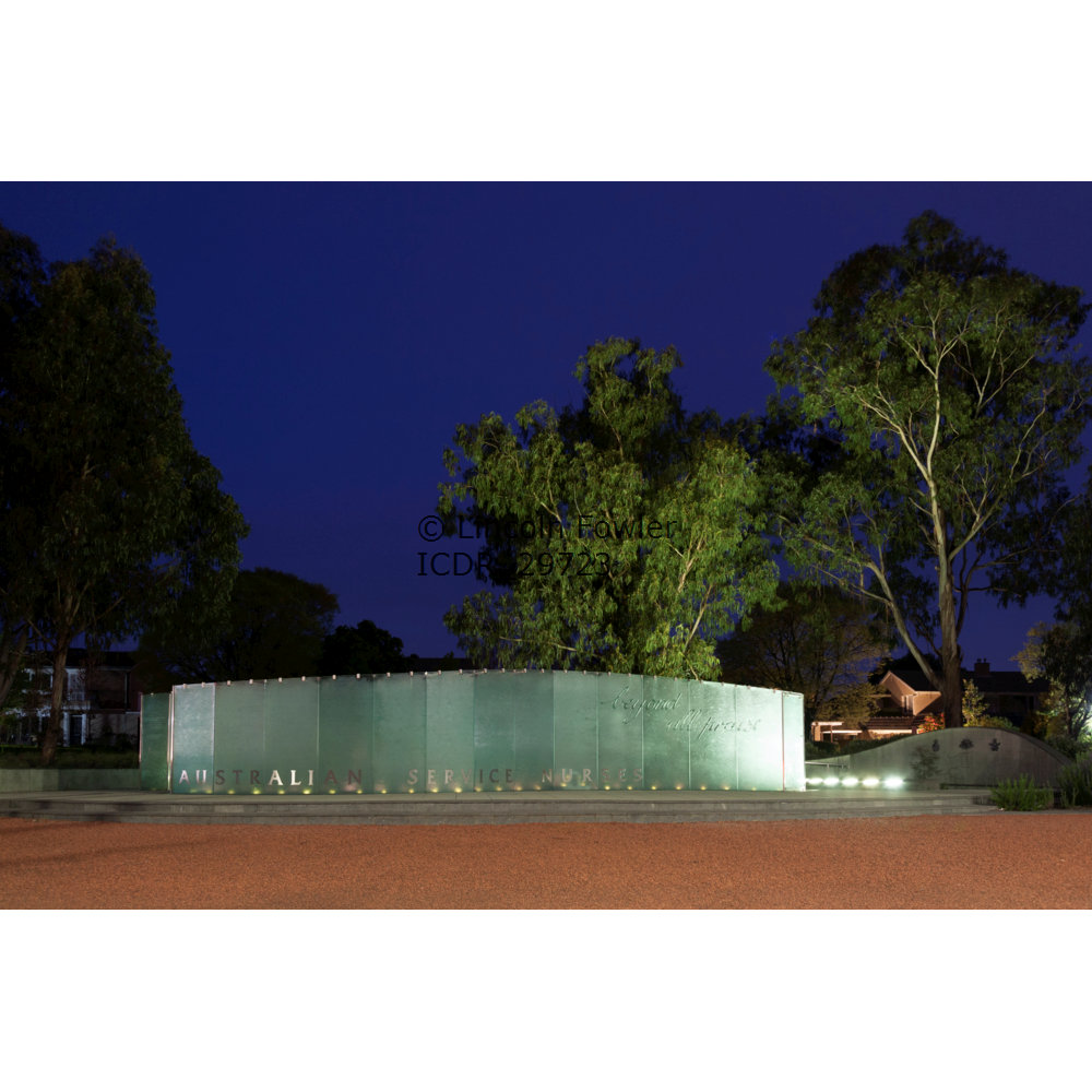 Armed Forces Nurses Memorial - Canberra