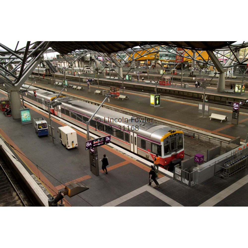 Southern Cross railway station Melbourne Victoria