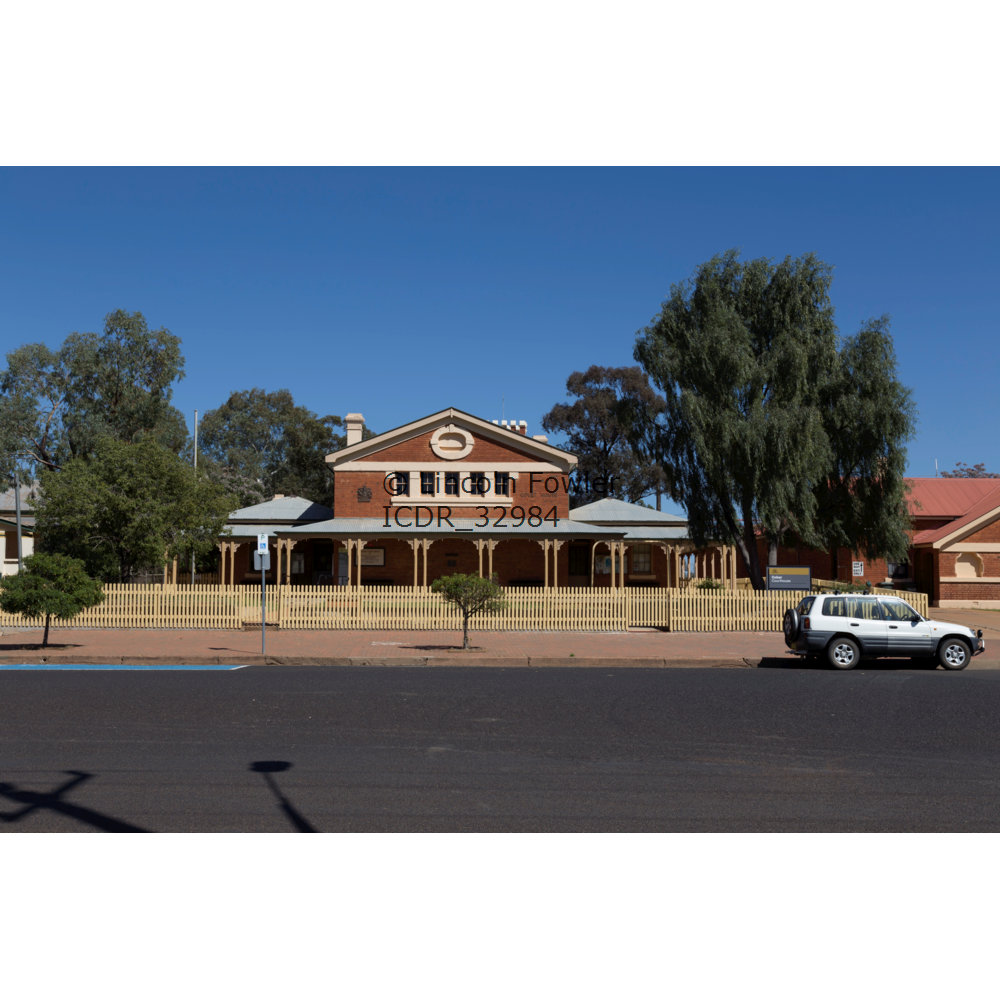 Cobar Courthouse NSW Australia