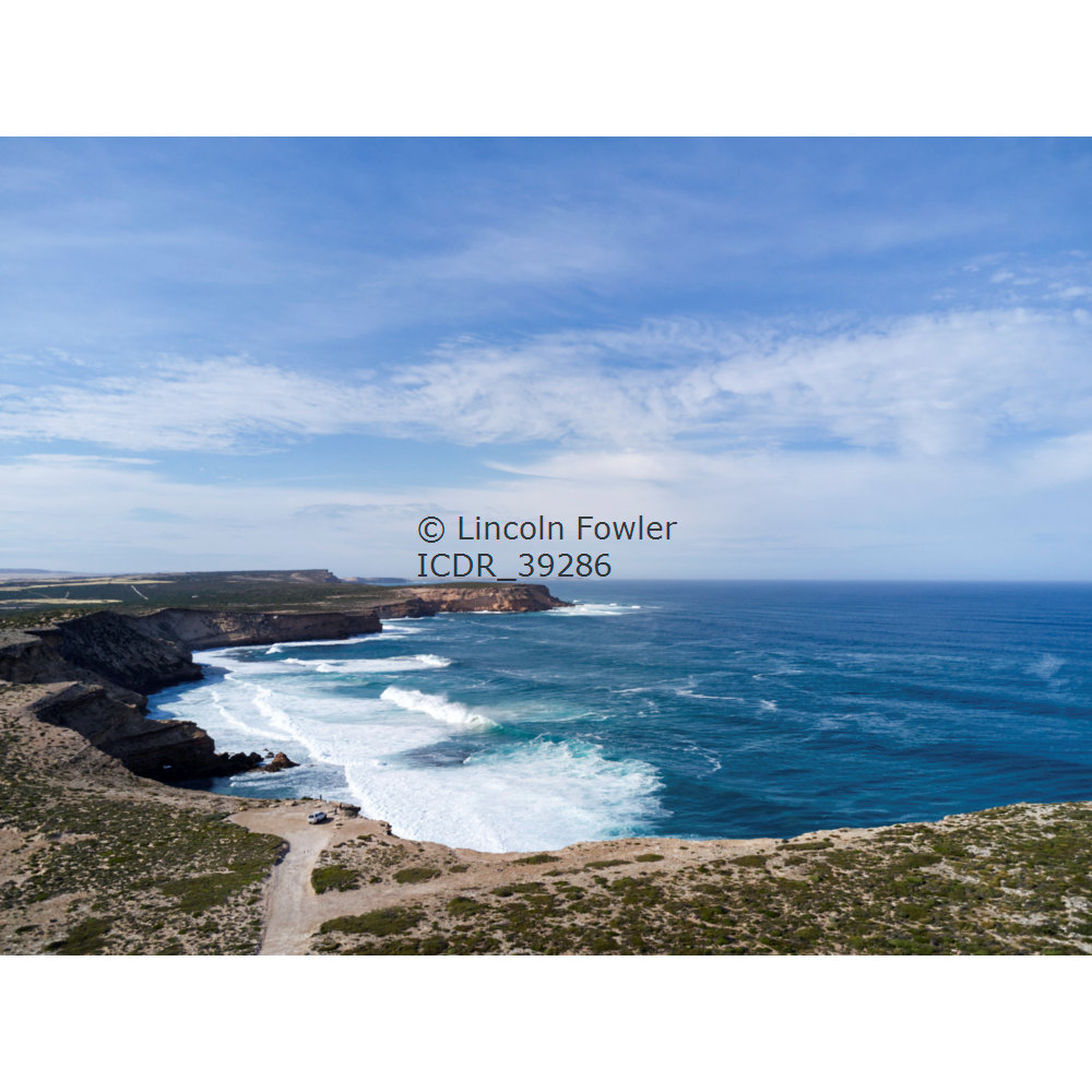 Cummings monument on the rugged cliffs of Western Eyre Peninsula South Australia