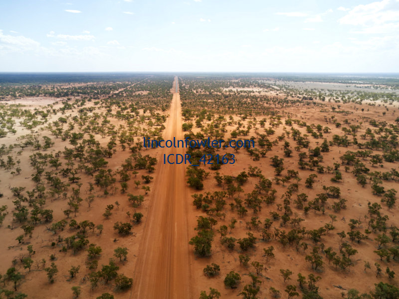 Aerial Louth Road NSW Australia