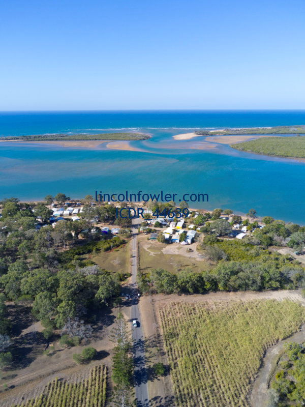 Aerial of the Miara Caravan Park Queensland Australia