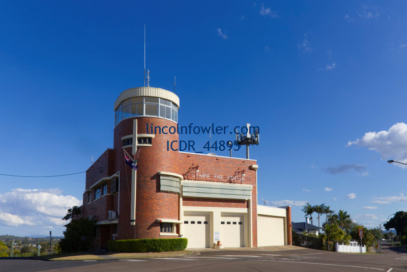 Gympie Fire Station (1940) Queensland Australia