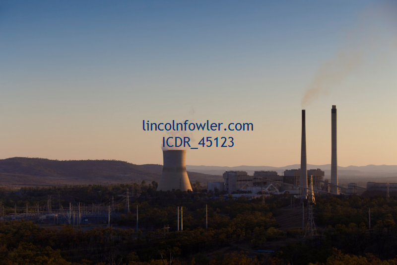 Coal fired power station Queensland Australia