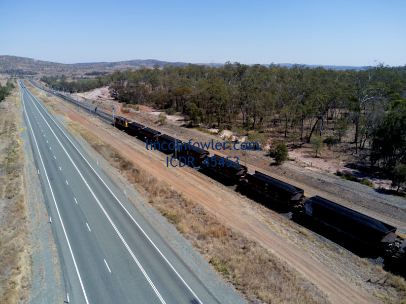 Coal Train Central Queensland Australia