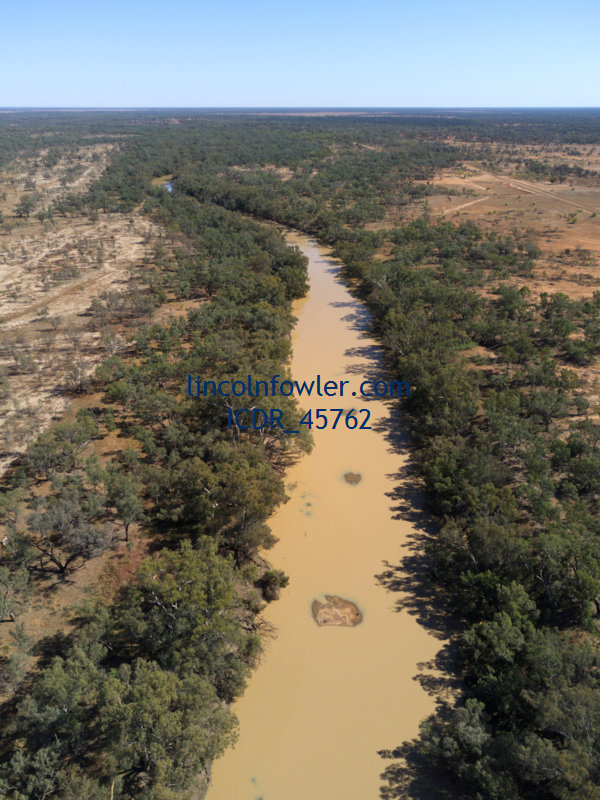 Warrego River at Wyandra Queensland Australia