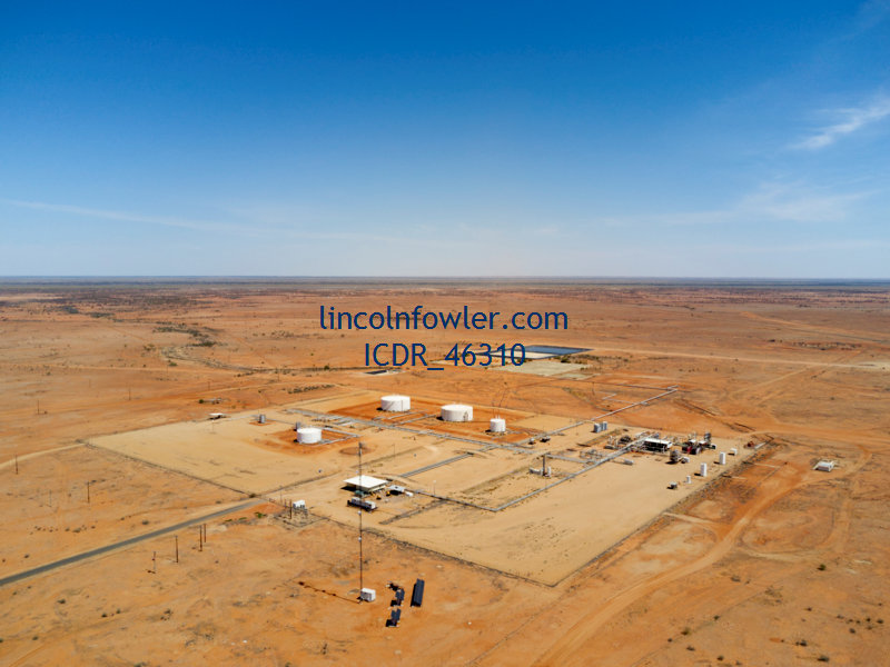 Naccowlah Oil and Gas field Western Queensland Australia