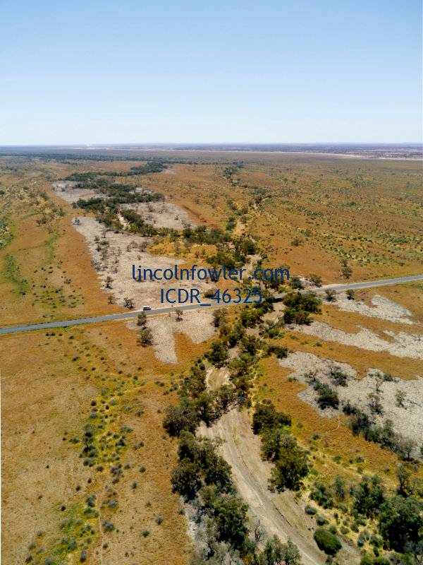 Coopers Creek flood plains Queensland Australia