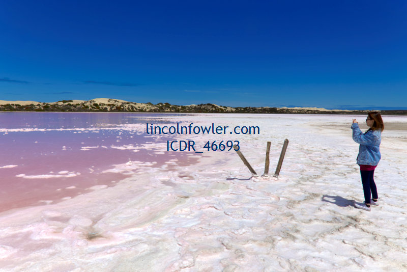 Lake MacDonnell near Penong South Australia
