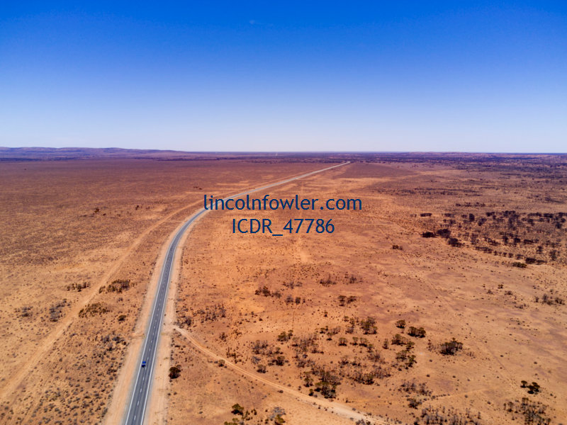 Barrier Highway Outback NSW Australia